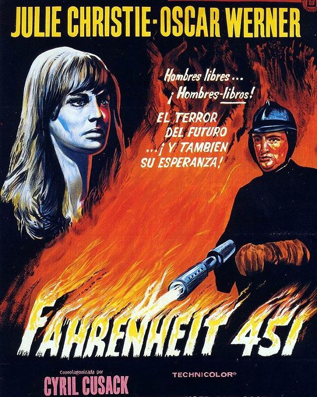 Fahrenheit 451 (1966, François Truffaut)