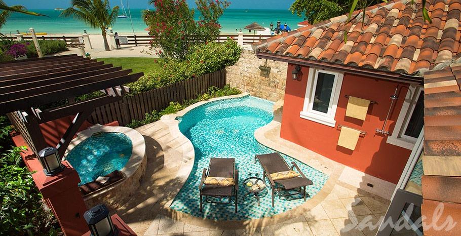 Antigua resort for honeymooners