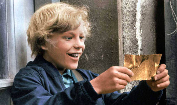 Charlie and the Chocolate Factory's golden ticket is up for auction | Films | Entertainment | Express.co.uk