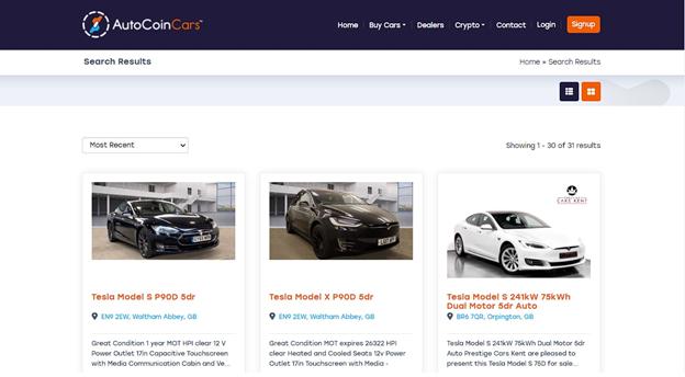 AutoCoinCars