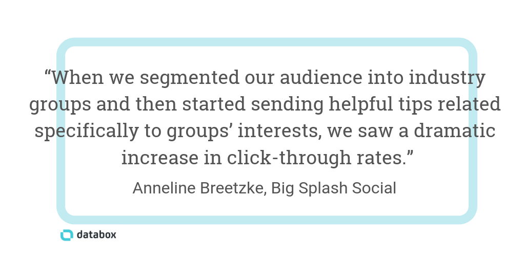 Segmenting Your Email List by Demographics