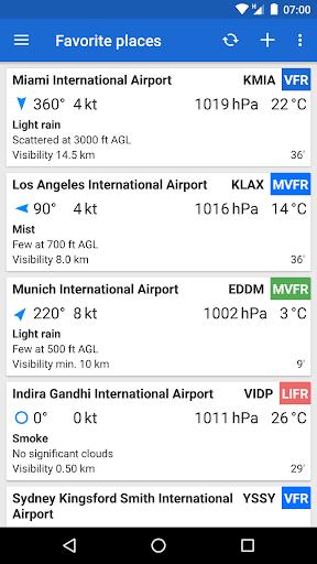Avia Weather - METAR & TAF- screenshot thumbnail