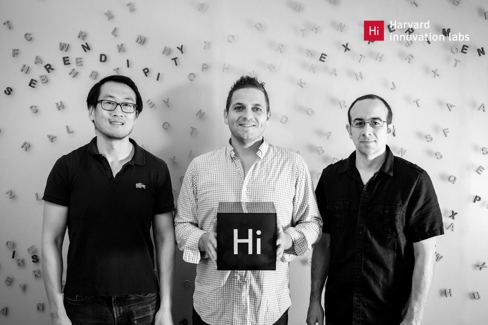 CEO David Xiao, COO Adam Sandler, Chief Architect Chris Beland