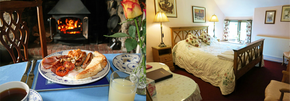 Stay in this lovely B&B and enjoy a delicious home cooked  breakfast.