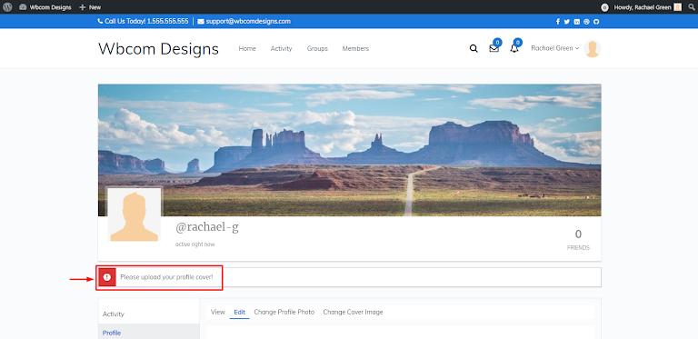 BuddyPress Profile Completion