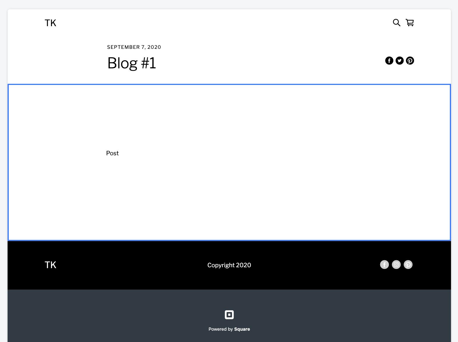 Square Online blog