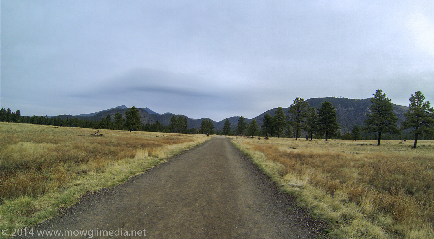 Heading out of Flagstaff, towards Humphreys Peak