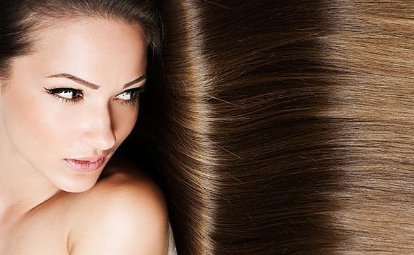 Длинные шелковистые волосы