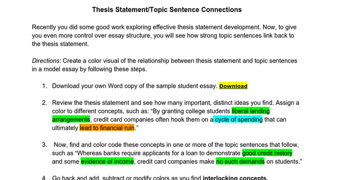 high school vs college thesis statement Essays related to differences between college & high school 1 high school vs college school plays a very important role in our life.