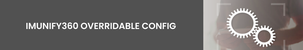 security made easy with Imunify360 Overridable Config