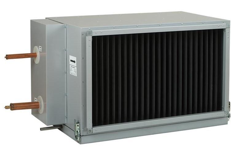 Фреоновые канальные охладители для систем вентиляции, купить фреоновый  охладитель Киев