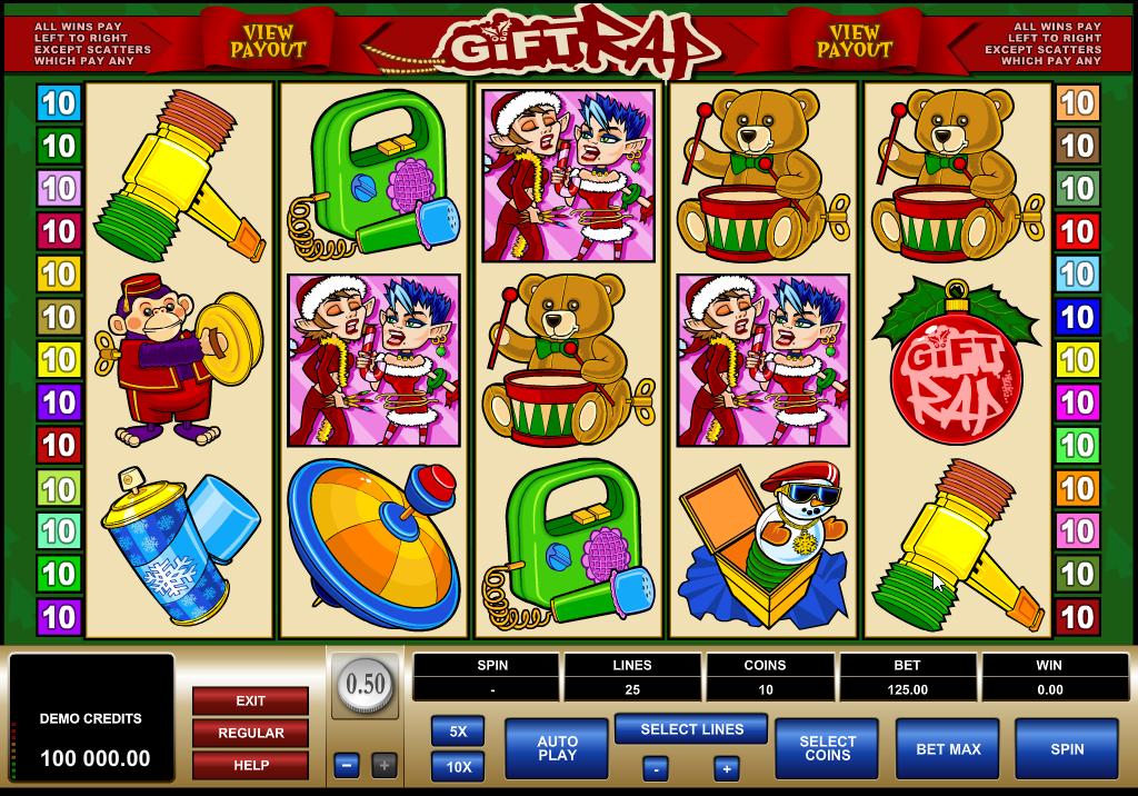 GiftRap Slots Game Review