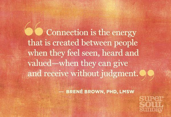 Dr. Brene Brown Quotes on Shame, Vulnerability and Daring Greatly - @OWNTV #supersoulsunday