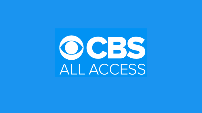 CBS - All Access logo for live streaming sports.