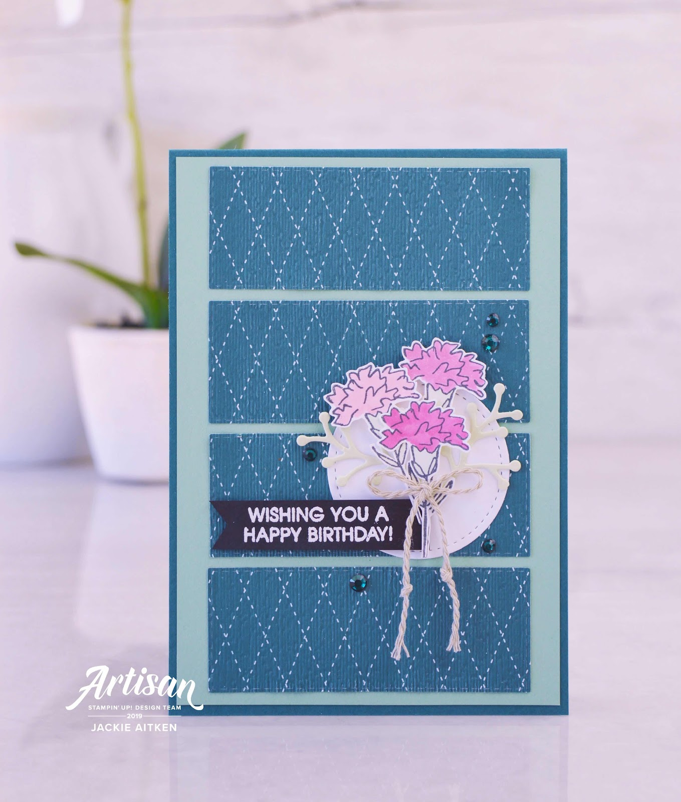 jaxx crafty creations, stampin up, 2019-2021 In Colours, Pretty Peacock, Scripty Embossing Folder, Beautiful Friendship, Inspiring Iris, Floral cards