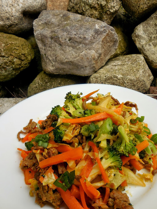 Easy healthy recipes: paleo or vegan stir fry by Welcome to Mommyhood