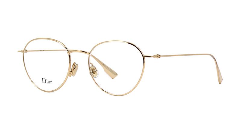 Dior Stellaire O2 J5G Gold Glasses | Pretavoir