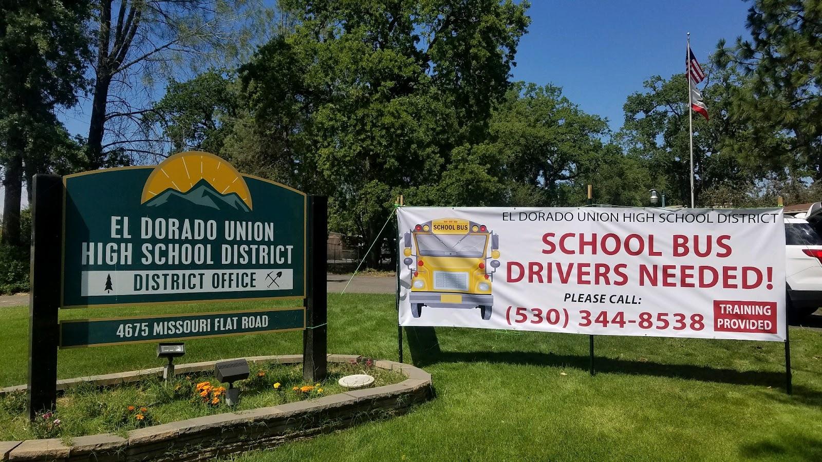 El Dorado High School District Needs Bus Drivers
