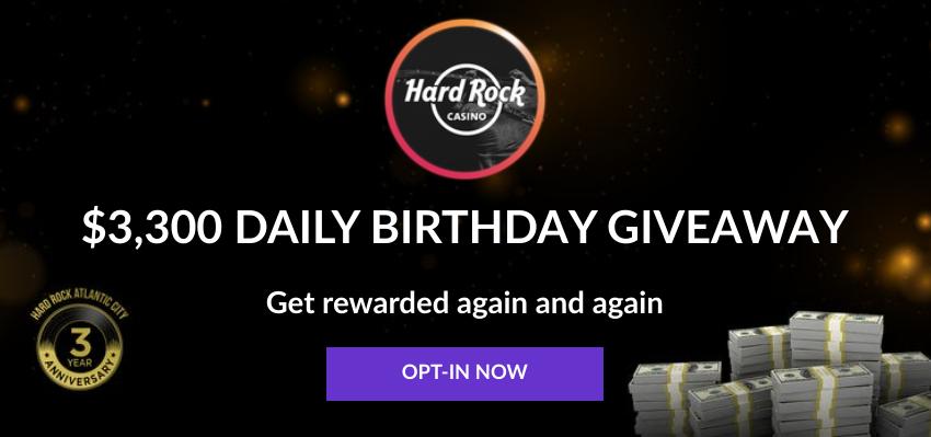 NJ Online Bonuses Hard Rock Casino