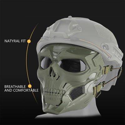 Camouflage Skeleton Mask, Camouflage Skeleton Mask