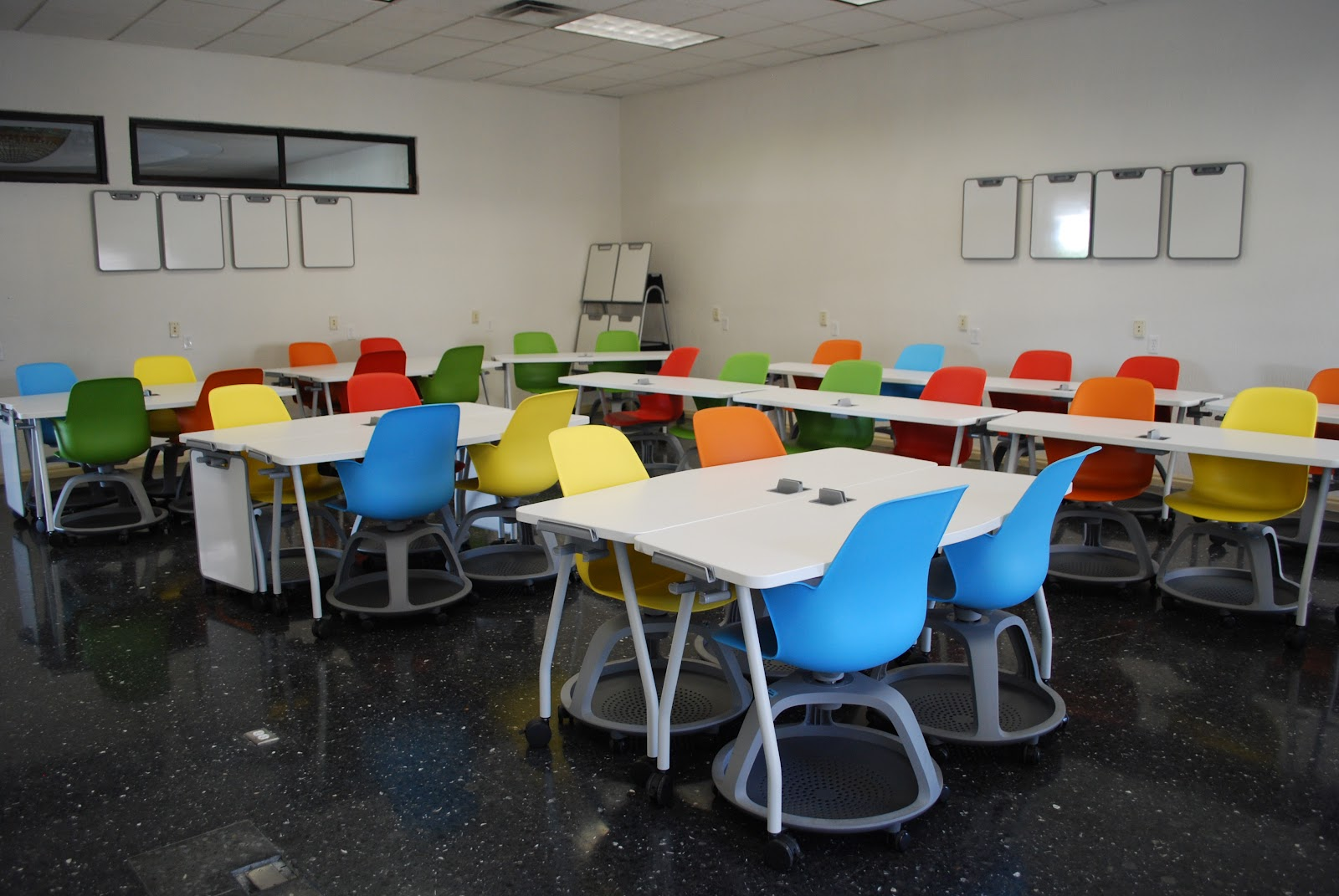 Redesigned classroom with