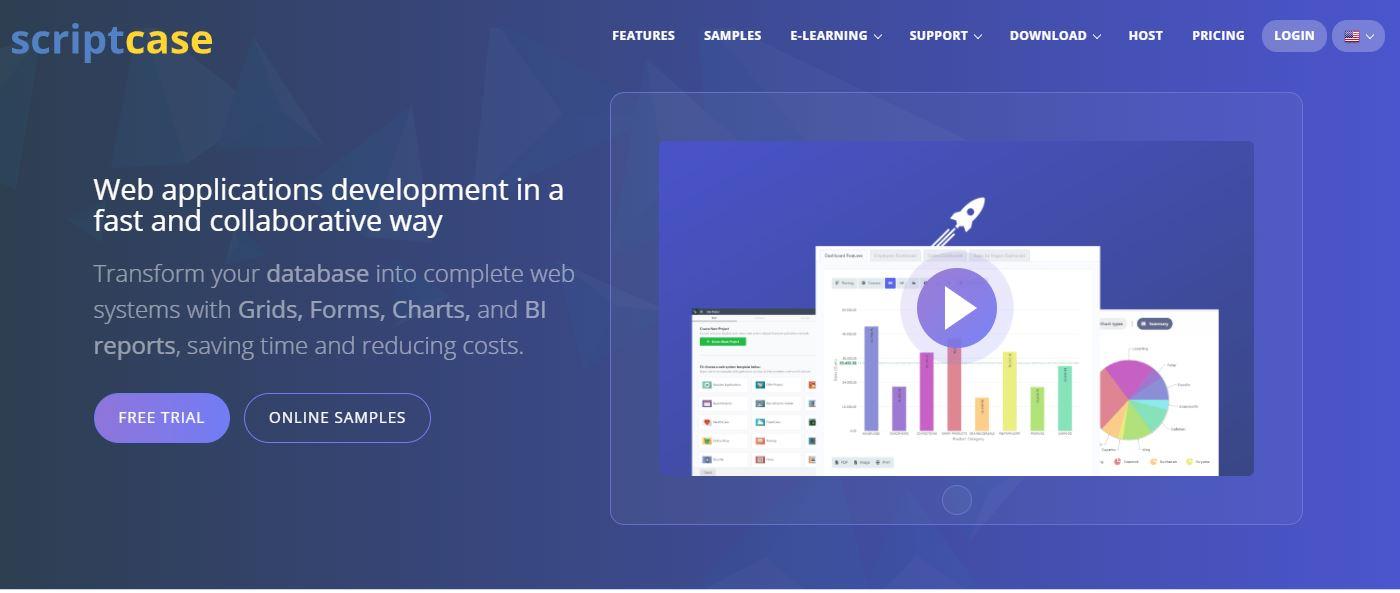 Scriptcase Mobile Software Development Software