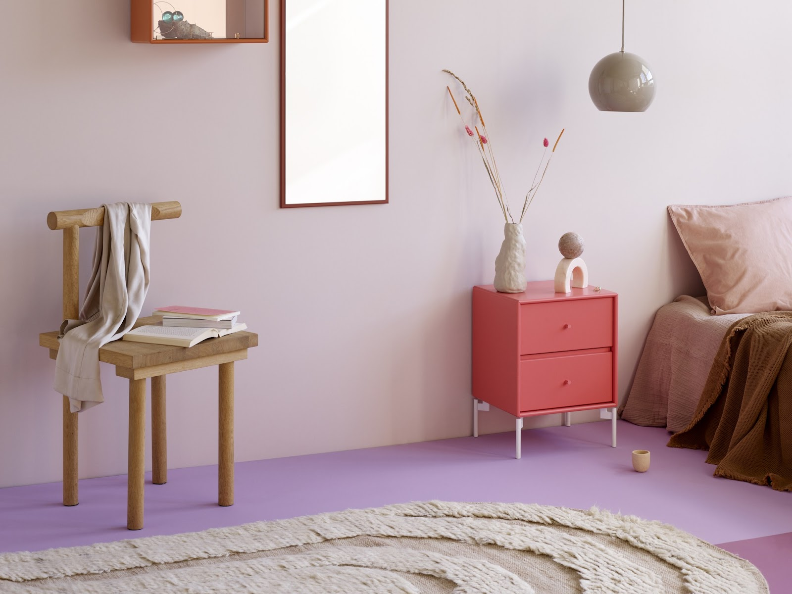 Color trends 2021: Millennial Purple interior design