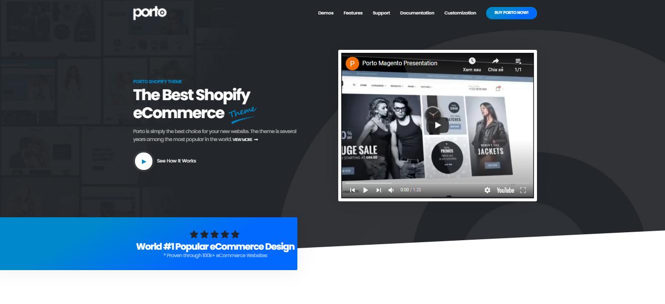 Porto - Shopify bootstrap theme