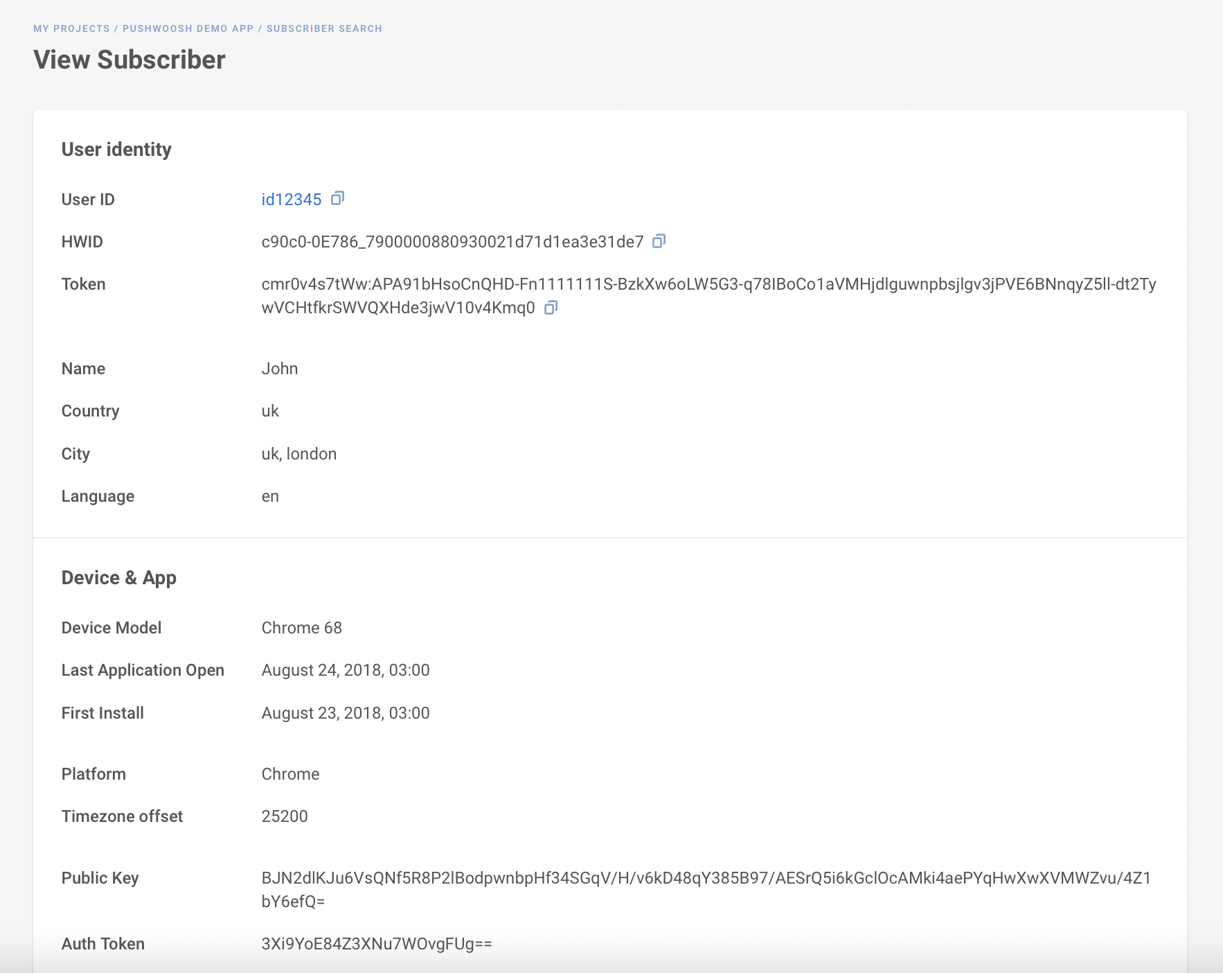 User Explorer - Pushwoosh Product Update