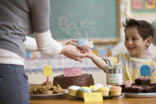 Boy holds bake sale as fundraising idea