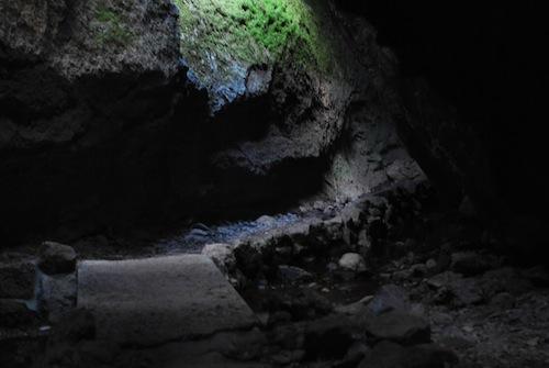 Bat cave.