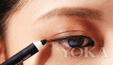 Meng Mei short messy hanging lower lashes Magic Eye (2)