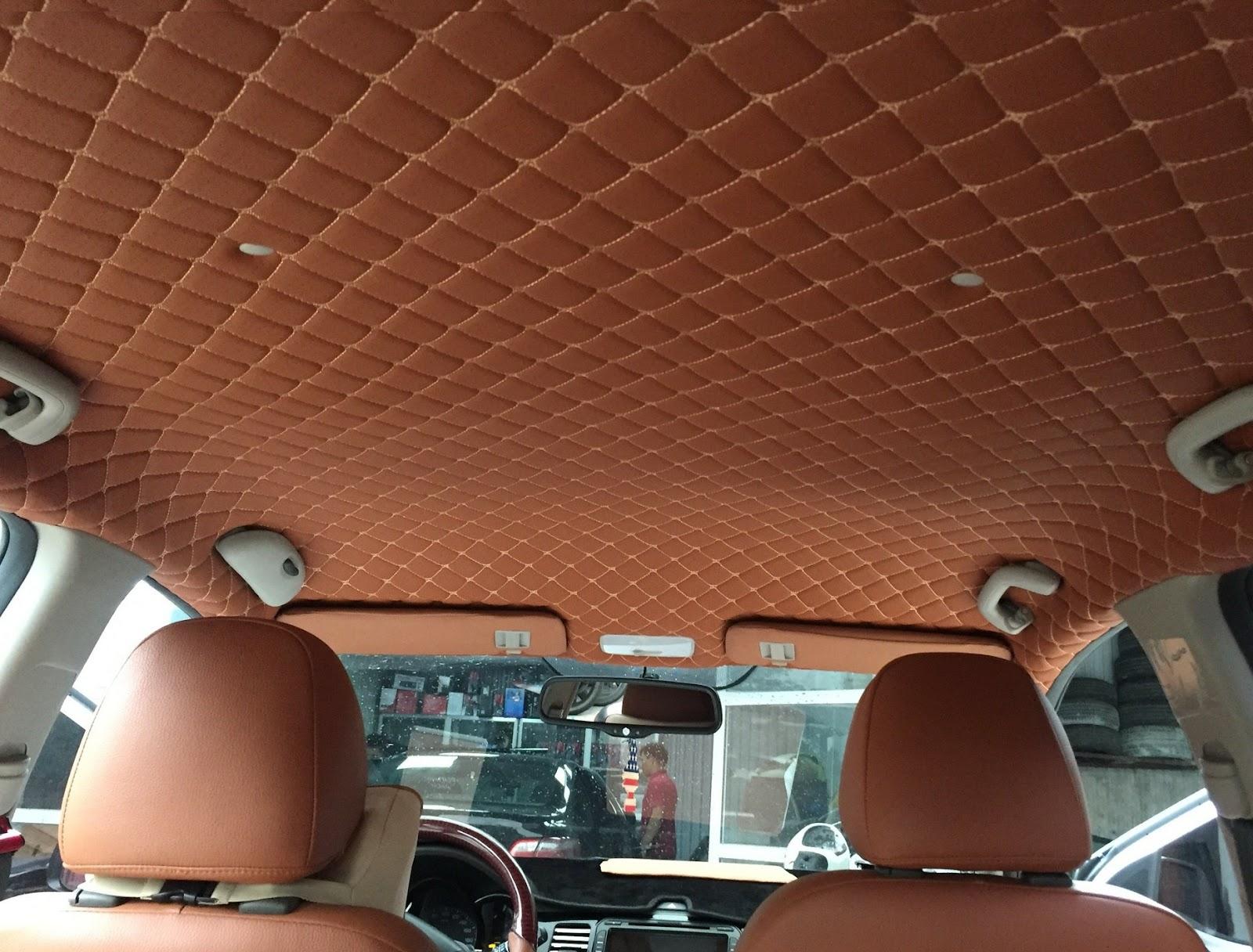 Xe ô tô của bạn rất cần thiết phải dán các đồ nội thất