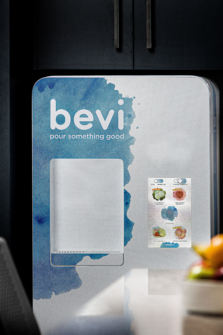 Bevi is the smart, customizable water system of tomorrow that we can already use today. #GetBevi allows you to customize your water and do good for the planet at the same time!
