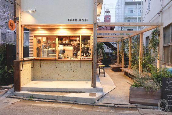 Quán cafe nhỏ với không gian ngoài trời