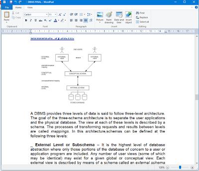 विंडोज एक्सेसरीज | वर्डपैड (Wordpad)