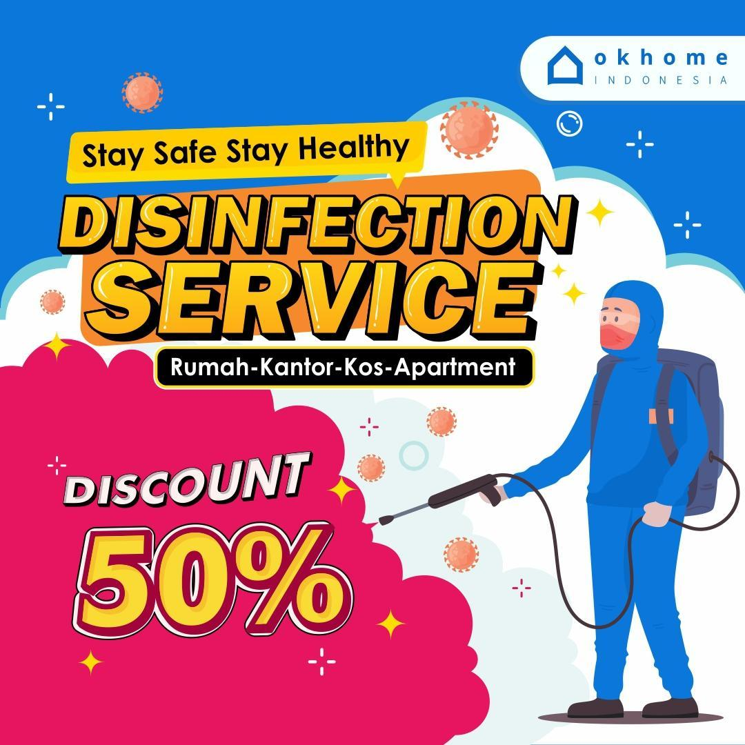 Layanan disinfection service home cleaning