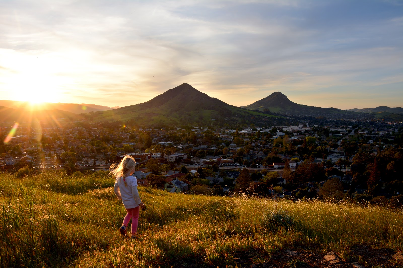 Beautiful Landscape of San Luis Obispo, California
