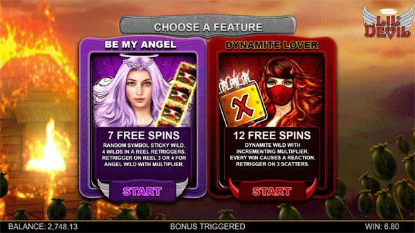 LIL DEVIL online casino slot