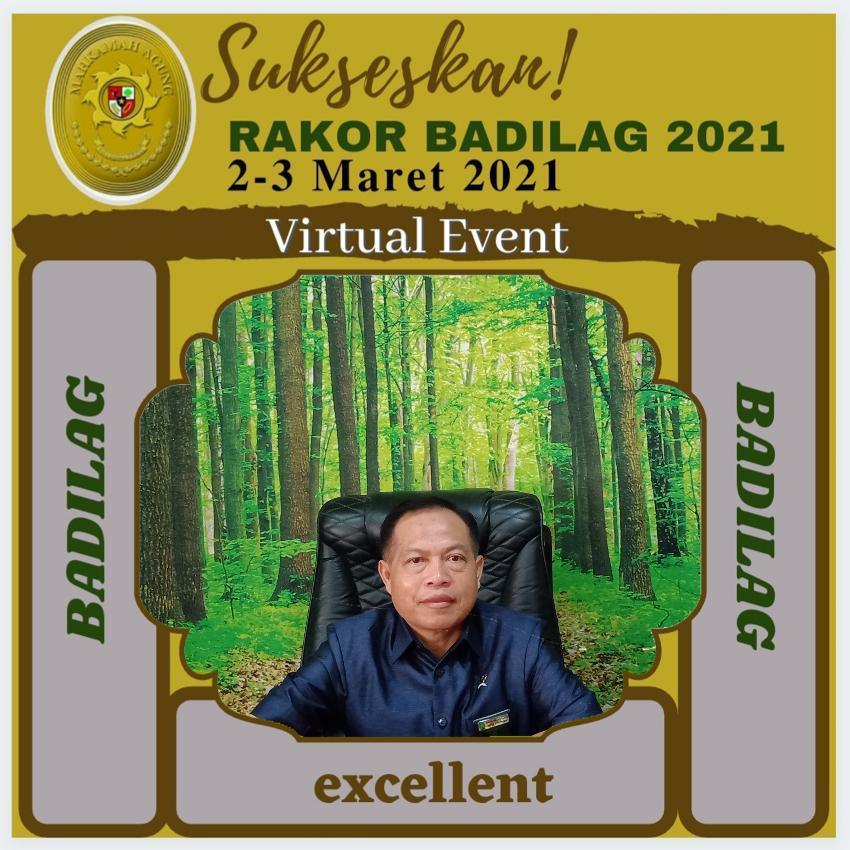 Antusias PA Dompu Sambut Rakor Ditjen Badilag 2021 | (26/2)