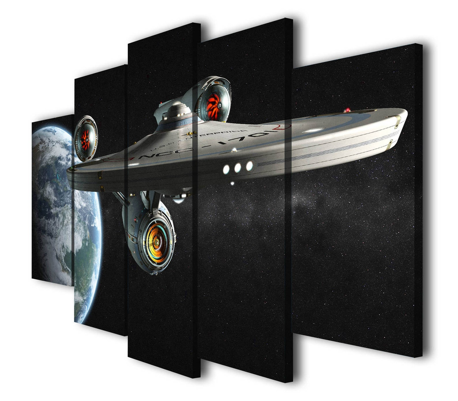 star trek movie canvas
