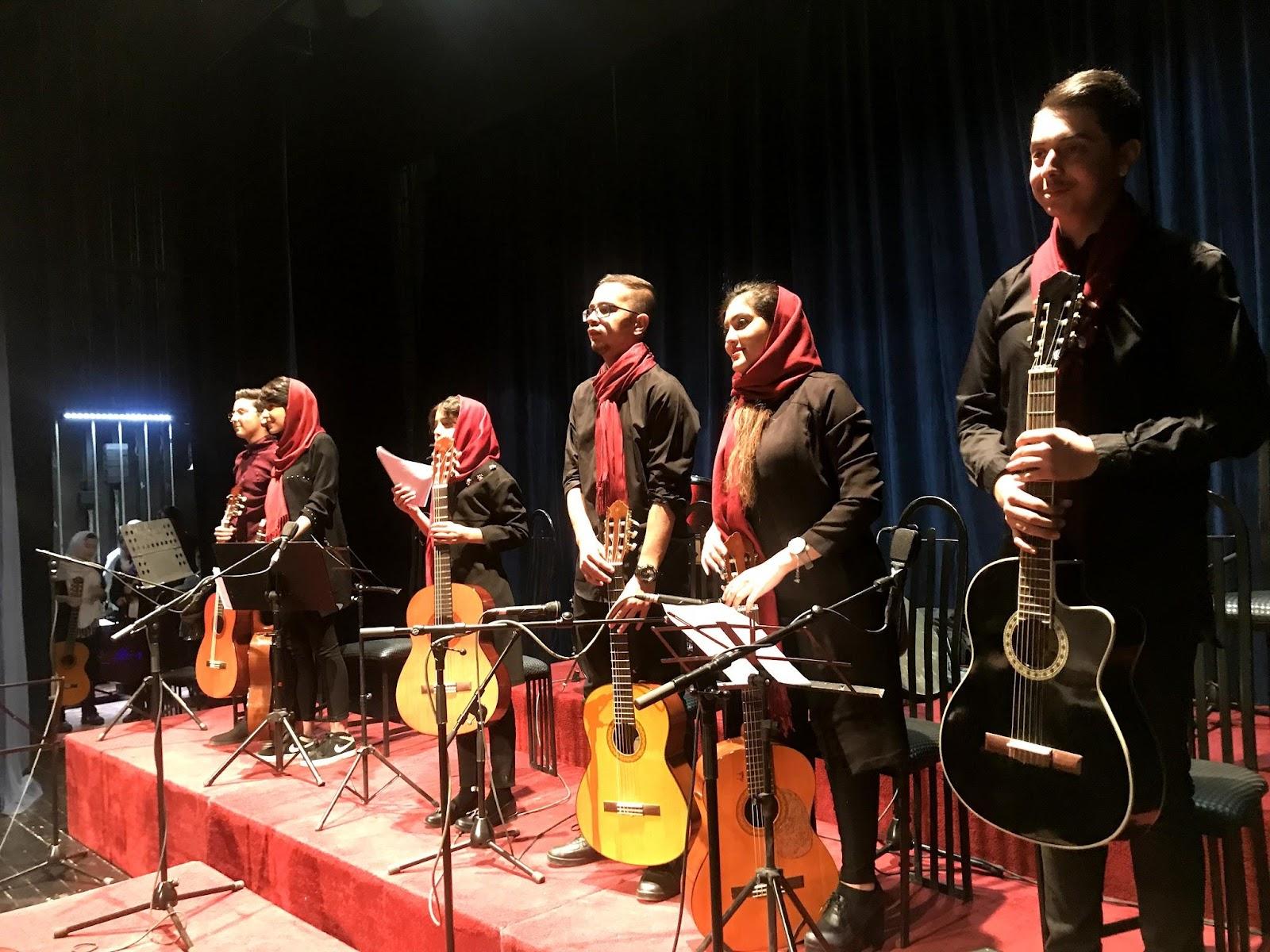 کنسرت ۴۵ هنرجویان آموزشگاه موسیقی نیما فریدونی