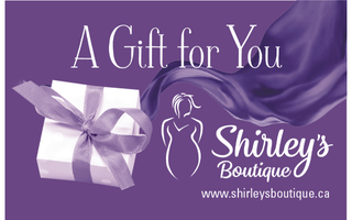Hellooooo shopping spree! Thank you to LeClair Cremation Centre for donating this fashionable $50 Gift Certificate to Shirley's Boutique and bookmark! Check out the flattering fashions for all at https://www.shirleysboutique.ca