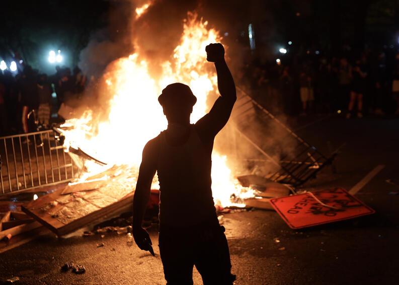 protestas george floyd black lives matter mayo 31 2020 white house washington dc