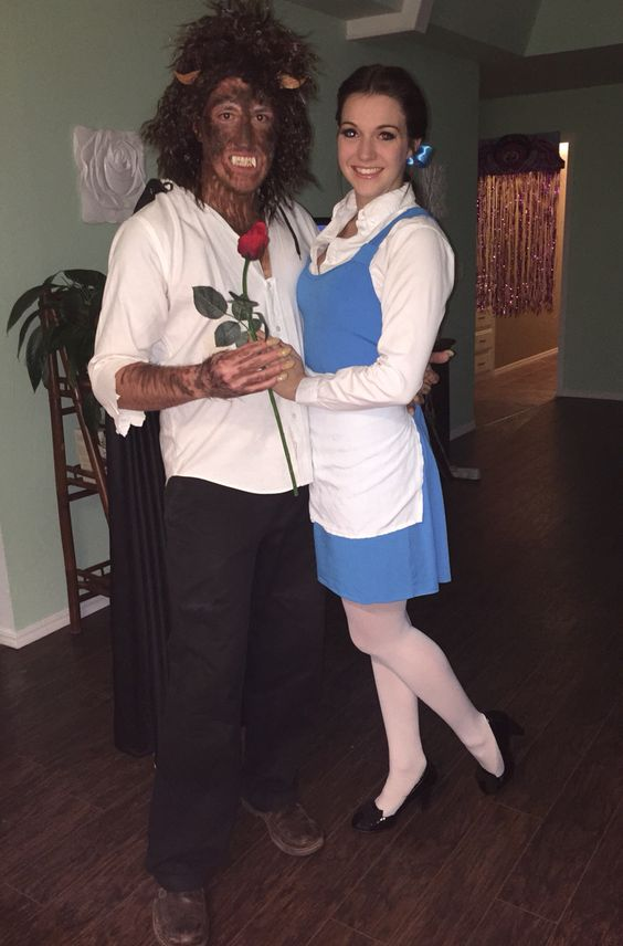 Beauty and Beast Halloween costume