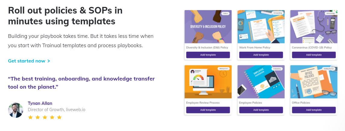 Trainual microlearning platform