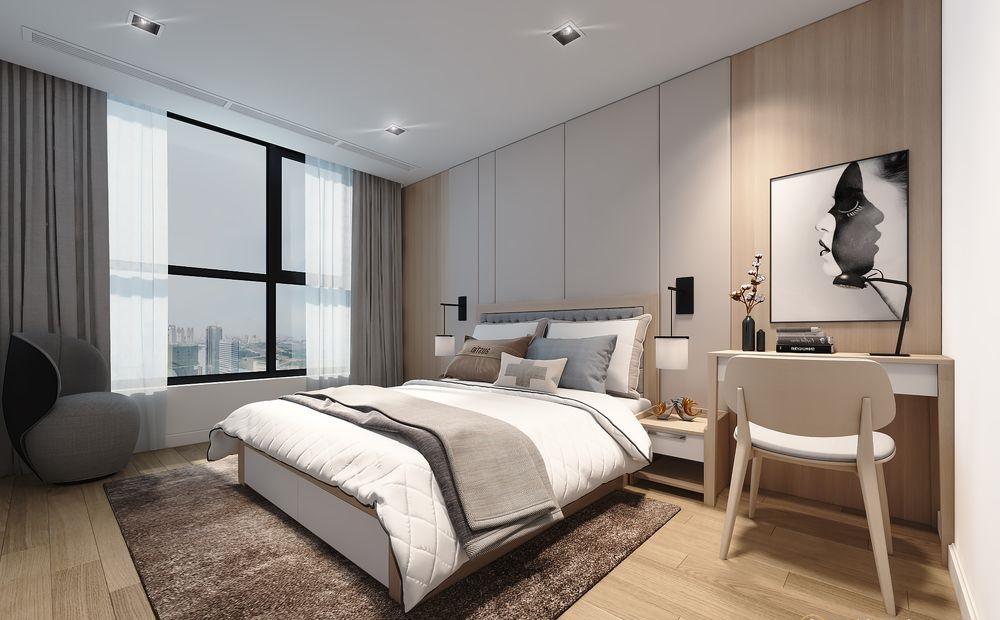 Sử dụng tông màu trung tính cho phòng ngủ