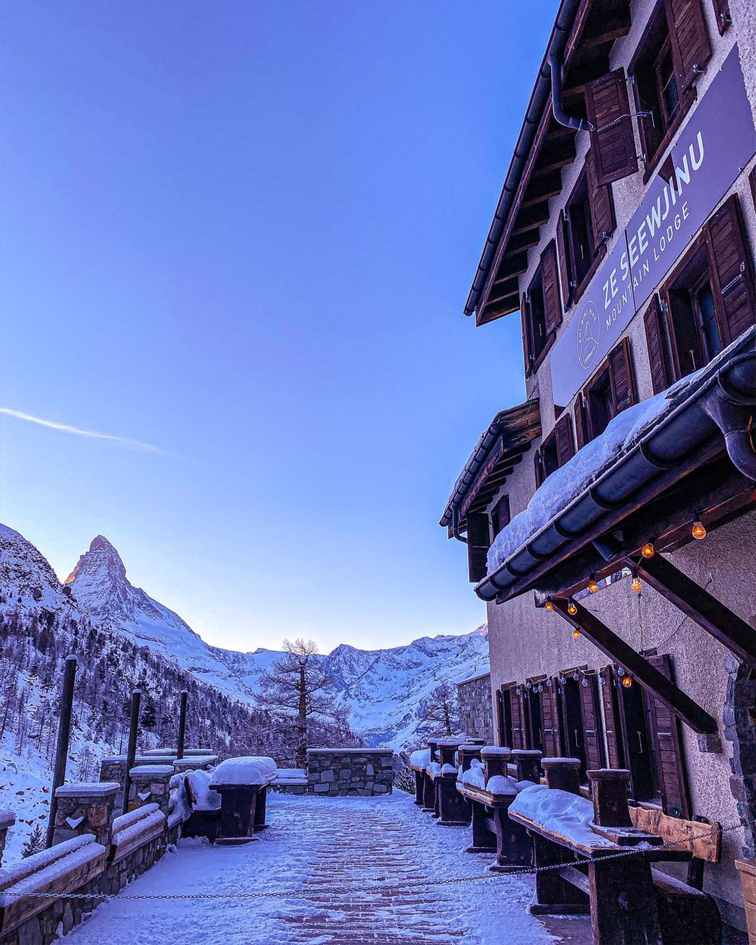 Cuina típica de muntanya als Alps suïssos