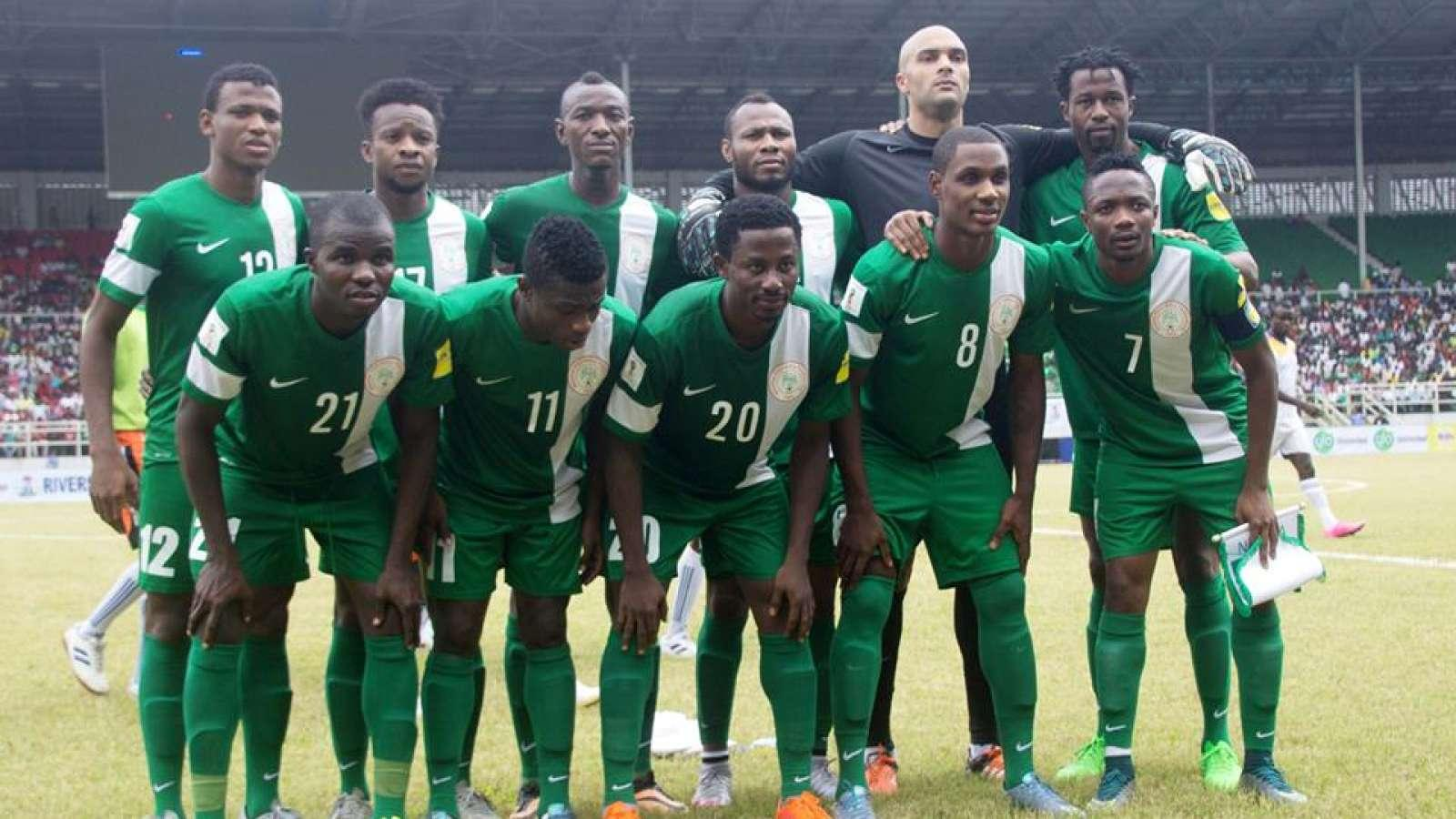 Image result for nigeria team at world cup 2018'
