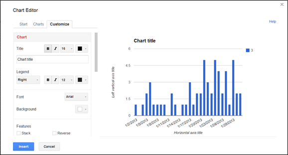 How to create charts in google spreadsheets spreadsheetsolving or second you can edit your chart if it has already been inserted into your spreadsheet at this point hover over the upper left side and click on the ccuart Choice Image